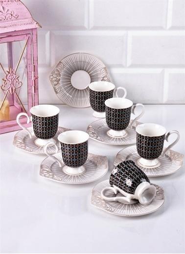 Bayev Lüx Ayaklı Kahve Fincanı No 3 Renkli
